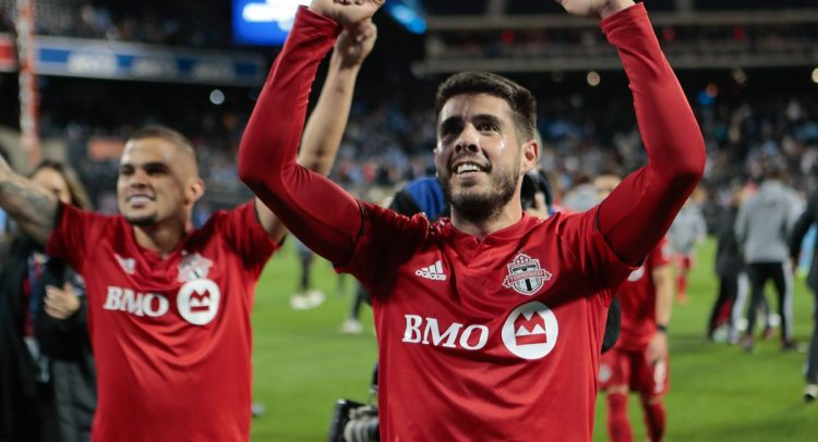 Toronto FC upsets New York City FC, reaches the Eastern Conference finals, 2-1