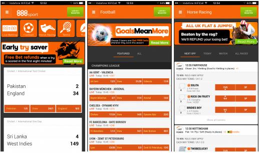 image of 888sport betting app